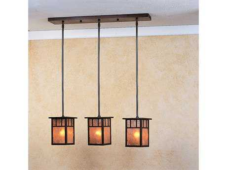 Arroyo Craftsman Huntington Three-Light Island Light