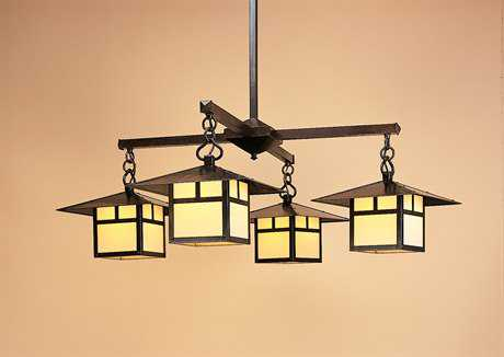 Arroyo Craftsman Monterey Four-Light Chandelier