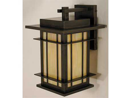 Arroyo Craftsman Oak Park Outdoor Wall Sconce