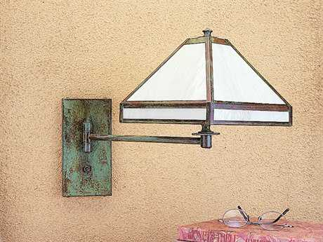 Arroyo Craftsman Pasadena Swing Arm Outdoor Wall Sconce