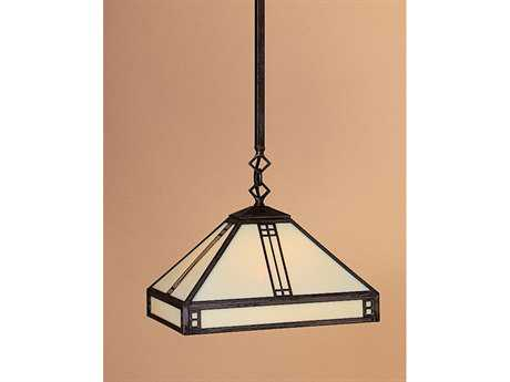 Arroyo Craftsman Prairie Stem Hung Mini-Pendant