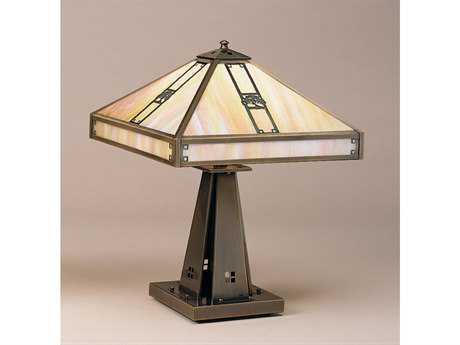 Arroyo Craftsman Pasadena Four-Light Table Lamp