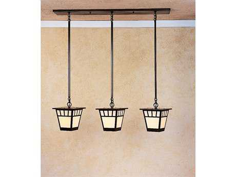 Arroyo Craftsman Savannah Three-Light Island Light