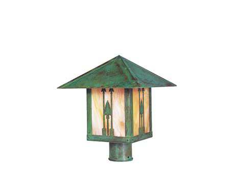 Arroyo Craftsman Timber Ridge Outdoor Post Mount Light