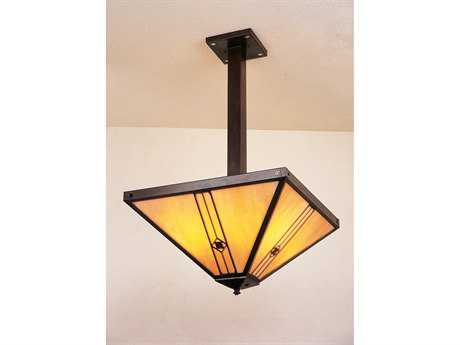Arroyo Craftsman Utopian Four-Light Inverted Pendant