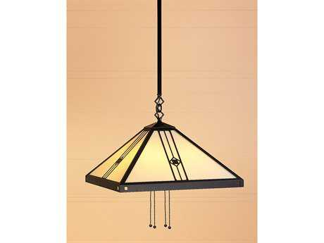 Arroyo Craftsman Utopian Four-Light Stem Hung Pendant