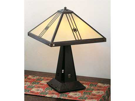 Arroyo Craftsman Utopian Four-Light Table Lamp