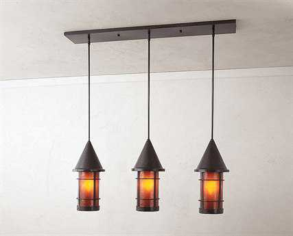 Arroyo Craftsman Valencia Three-Light Island Light