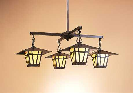 Arroyo Craftsman Westmoreland Four-Light Chandelier