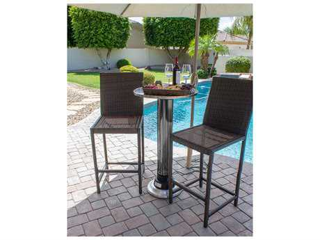 AZ Patio Heaters Pub Table W Built In Electric Heater