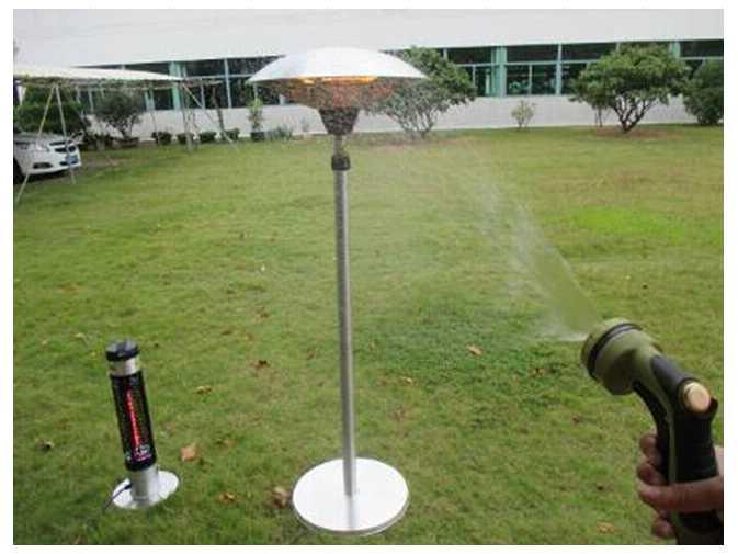 Az Patio Heaters Telescopic Electric Heater With