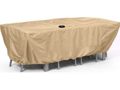AZ Patio Heaters Medium Patio Furniture Cover in Camel PatioLiving