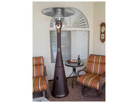 AZ Patio Heaters Tapered Wicker Heater