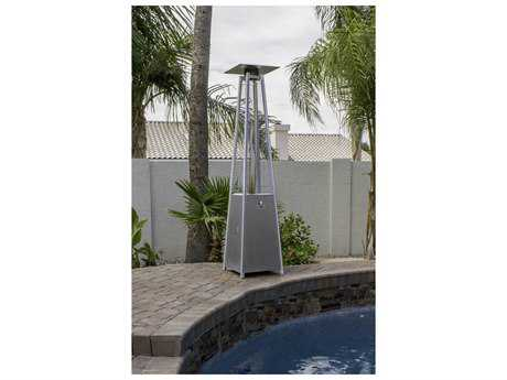 AZ Patio Heaters Quartz Glass Tube- Stainless Steel AZHLDS01GTSS