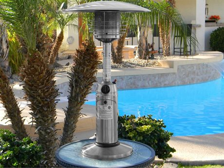 AZ 38 Portable Table Top Stainless Steel Propane Heater PatioLiving
