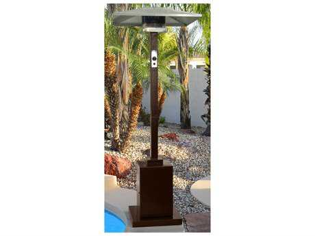 AZ 91 Tall Steel Hammered Gold Commercial Grade Propane Gas Heater