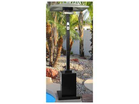 AZ 91 Tall Black Steel Commercial Grade Propane Gas Heater