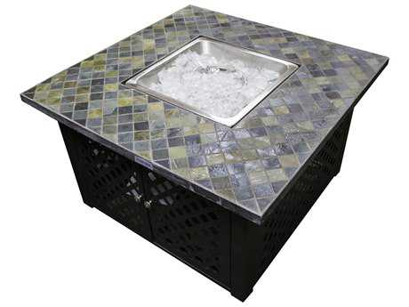AZ Patio Heaters 40'' Square Slate Top Fire Pit