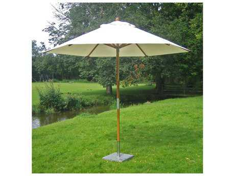 Bambrella Sirocco 9 foot Round Pulley Lift No Tilt Umbrella
