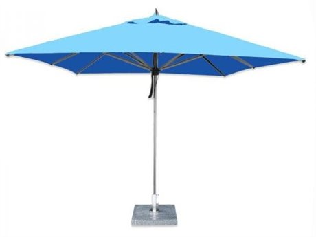 Bambrella Hurricane 10' Square Pulley Lift Umbrella