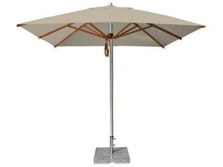 Bambrella Yacht 10' Square Pulley Lift No Tilt Umbrella