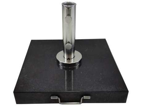 Bambrella 155lbs Black Granite Umbrella Base for 2'' Pole