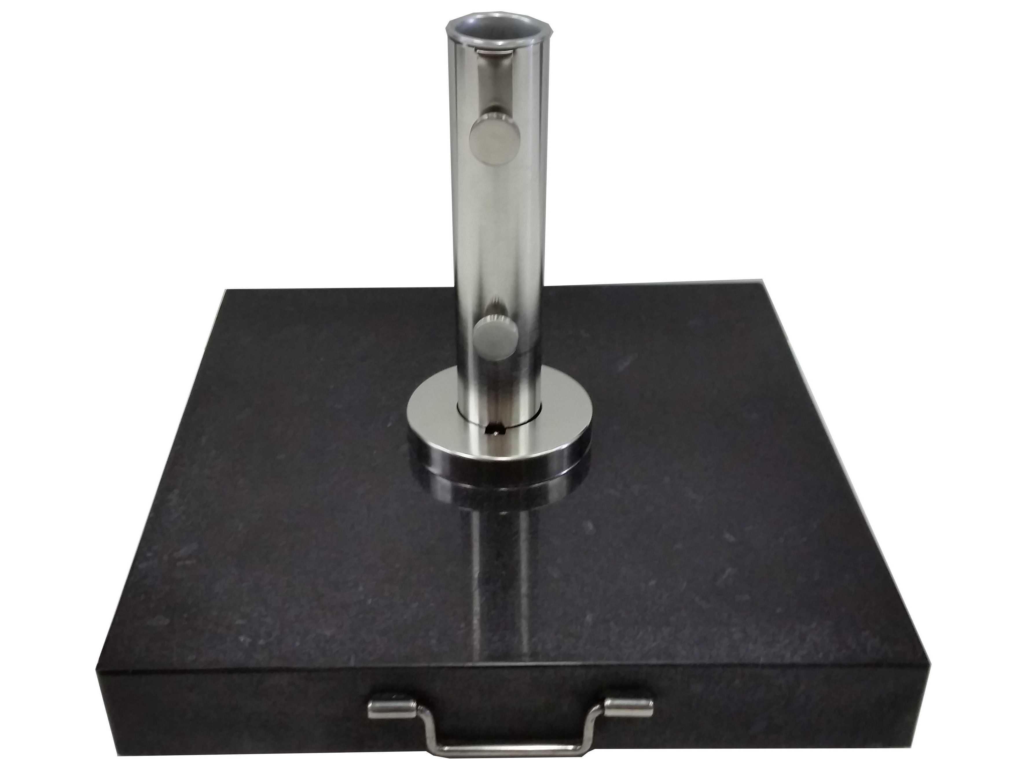 Bambrella 155lbs Black Granite Umbrella Base For 2'' Pole