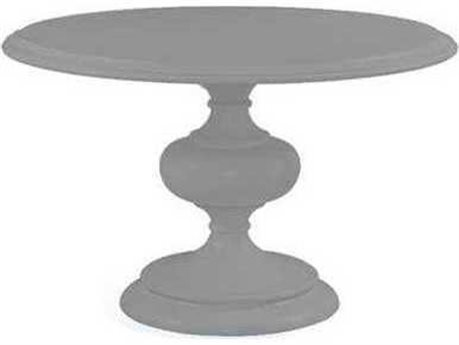 Bassett Mirror Hessel Medium Gray 48'' Wide Round Dining Table