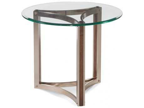 Bassett Mirror Thoroughly Modern Brown 28'' Round Cornell End Table