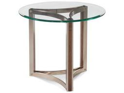 Bassett Mirror Thoroughly Modern Brown 28'' Round Cornell End Table