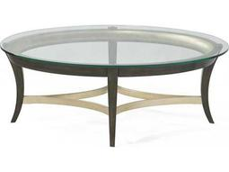 Bassett Mirror Thoroughly Modern  Nora 48'' x 32'' Oval Cocktail Table