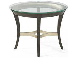 Bassett Mirror Thoroughly Modern  Nora 30'' x 24'' Oval End Table