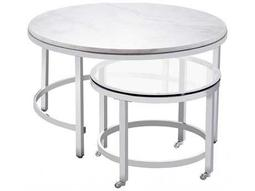 Bassett Mirror Thoroughly Modern  Jadyn 34'' x 34'' Round Cocktail Table