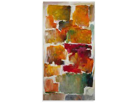 Bassett Mirror Thoroughly Modern Colorful Blocks II Painting