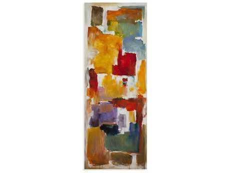 Bassett Mirror Thoroughly Modern Colorful Blocks III Painting
