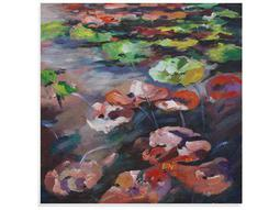 Bassett Mirror Thoroughly Modern Lily Pads Painting