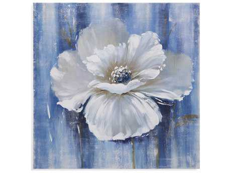 Bassett Mirror Old World Beauty in White I Painting