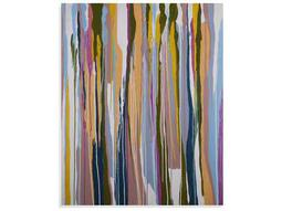 Bassett Mirror Thoroughly Modern Colorful Lines Painting