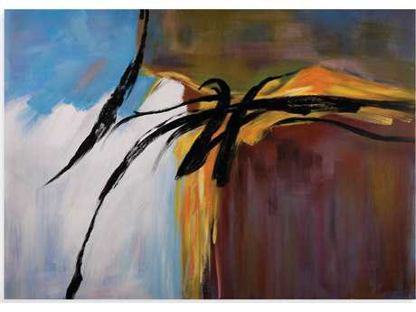 Bassett Mirror Thoroughly Modern Cross Currents Painting