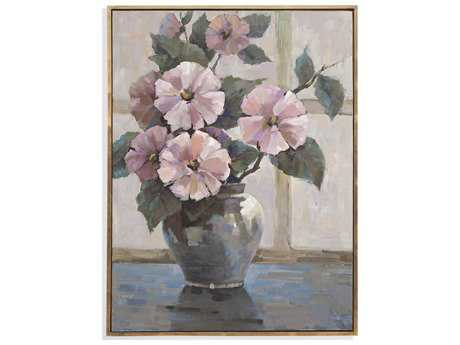 Bassett Mirror Old World Pretty in Pink Painting