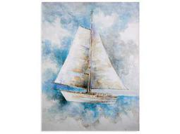 Bassett Mirror Pan Pacific Sail Ahead Painting