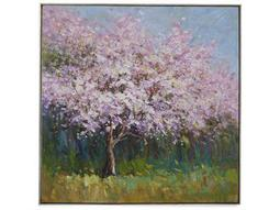 Painting Bassett Mirror Hollywood Glam ''Lilac Tree'' Painting