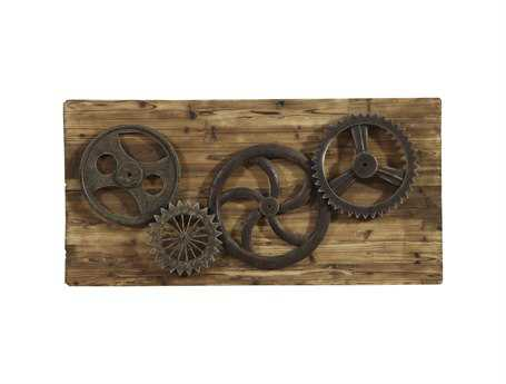 Bassett Mirror Other Industrial Gears Wall Art