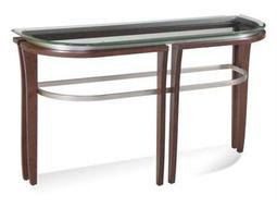 Bassett Mirror Thoroughly Modern 18 x 50 Rectangular Cappuccino Fusion Console Table
