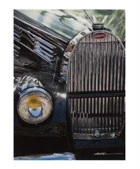 Bassett Mirror Thoroughly Modern Bugatti Wall Art