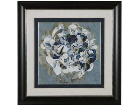 Bassett Mirror Hollywood Glam Elegant Hydrangeas II Wall Art