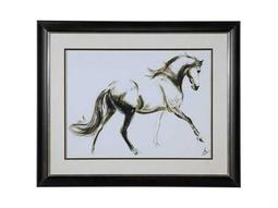 Bassett Mirror Thoroughly Modern Cantering Horse Wall Art