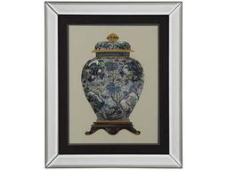 Bassett Mirror Old World Blue Porcelain Vase II Wall Art