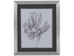 Bassett Mirror Thoroughly Modern Silvery Blue Tulips III Wall Art