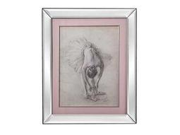 Bassett Mirror Hollywood Glam Antique Ballerina Study I Wall Art